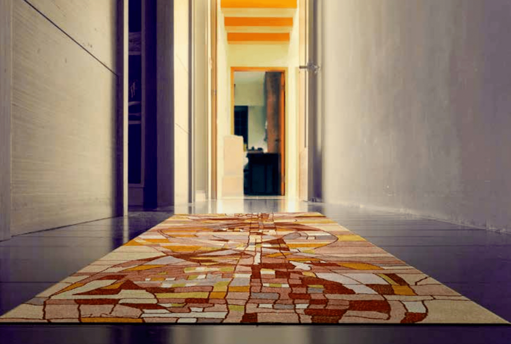 Hallway Landing And Carpet Runner Rugs Contemporary Rugs